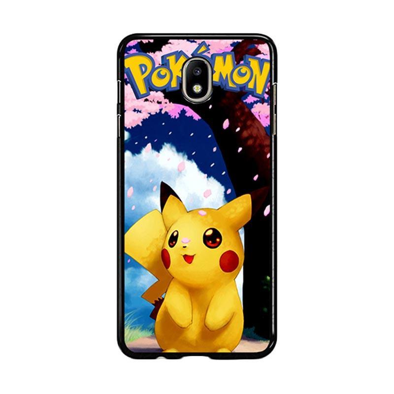 Flazzstore Awesome Sakura Sweet Pikachu Pokemon F0324 Custom Casing for Samsung Galaxy J7 Pro 2017