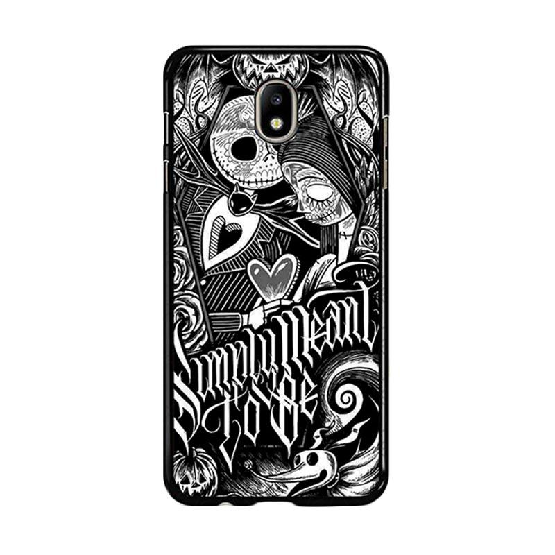 Flazzstore Jack And Sally Muertitos The Nightmare Before Christmas F0874 Custom Casing for Samsung Galaxy J7 Pro 2017