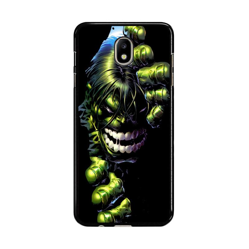 Flazzstore Superheroes The Incredible Hulk Z0047 Custom Casing for Samsung Galaxy J7 Pro 2017