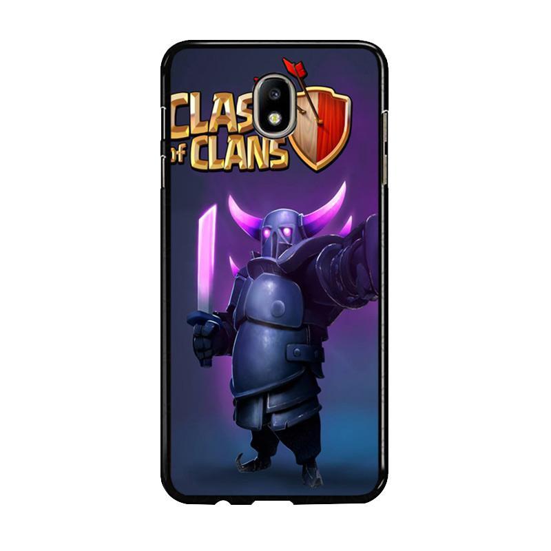 Flazzstore Clash Of Clans Pekka Z0236 Custom Casing for Samsung Galaxy J7 Pro 2017 - Purple