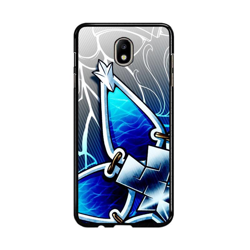 Flazzstore Kingdom Hearts Aqua Wayfinder Z0357 Custom Casing for Samsung Galaxy J7 Pro 2017