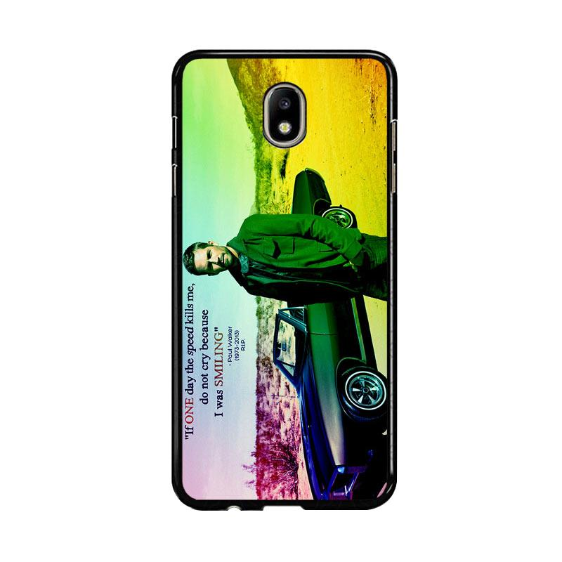 Flazzstore Paul Walker Quote Z0366 Custom Casing for Samsung Galaxy J7 Pro 2017