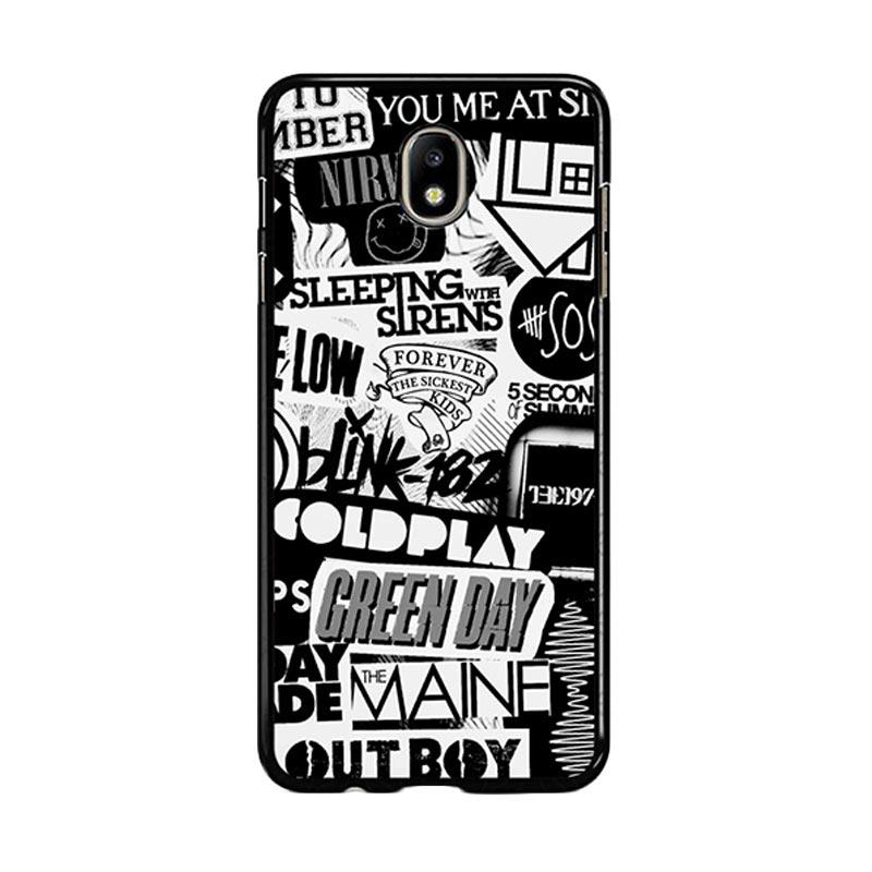 Flazzstore The Xx Coldplay Arctic Monkeys The Neighbourhood Sleeping With Sirens The 1975 Band Z0252 Custom Casing for Samsung Galaxy J5 Pro 2017