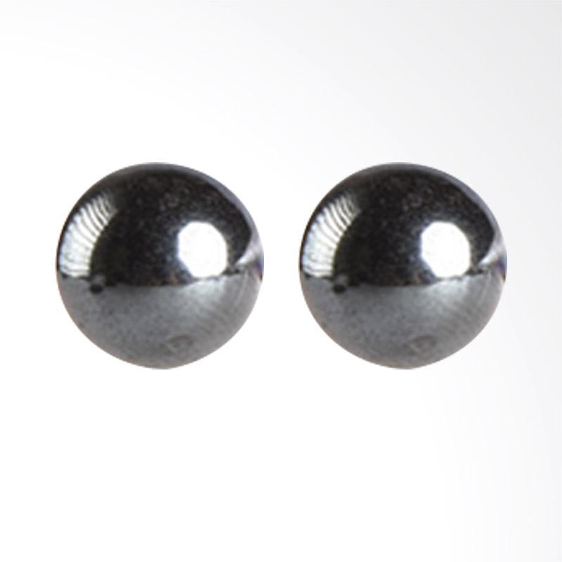 1901 Jewelry Studs 2077 GW.2077.HR13 Giwang Women Earrings - Black