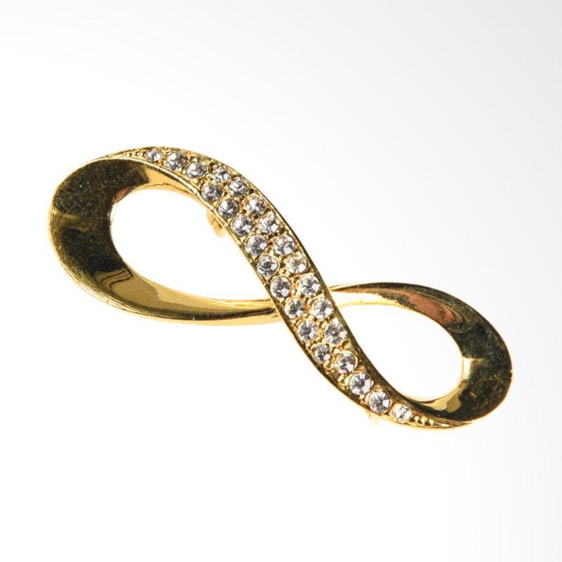 1901 Jewelry Infinity 558 BR.558.HR18 Bros Wanita - Gold