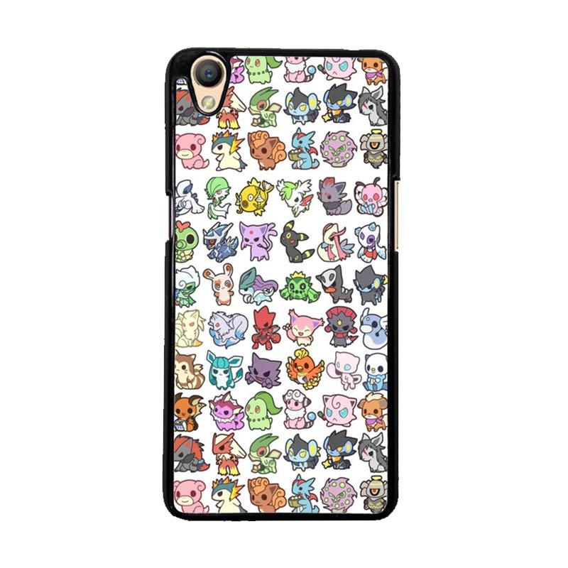 Flazzstore Pattern Pokemon O0061 Custom Casing for Oppo Neo 9 A37