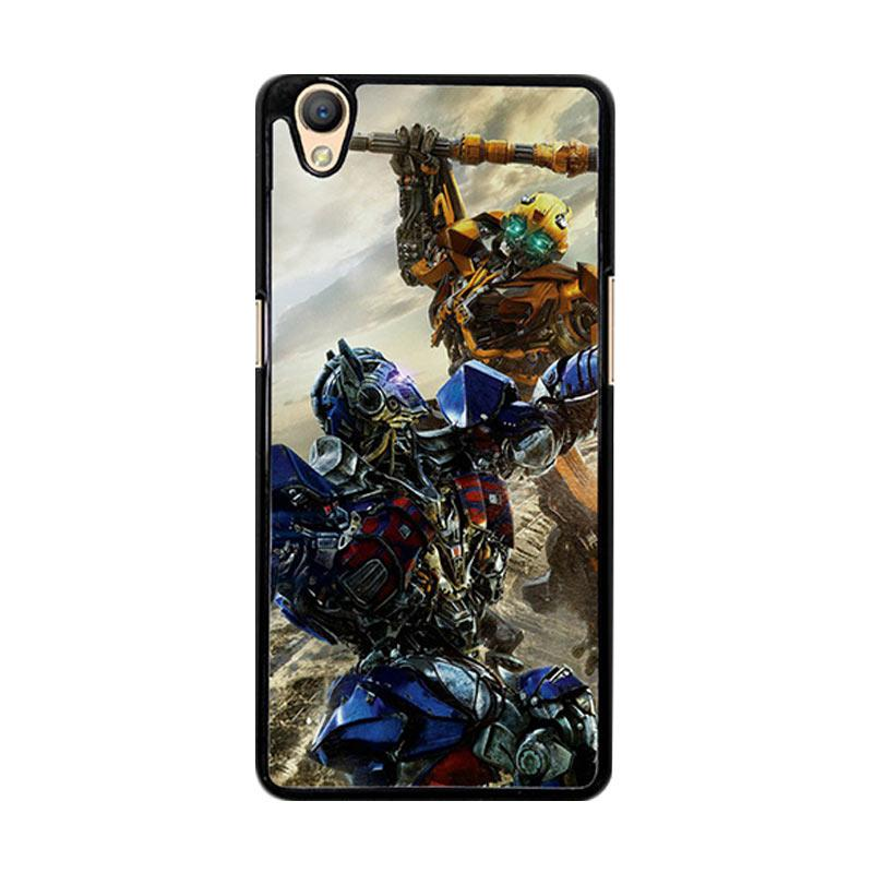 Flazzstore Bumblebee Versus Optimus Prime O0744 Custom Casing for Oppo Neo 9 or Oppo A37
