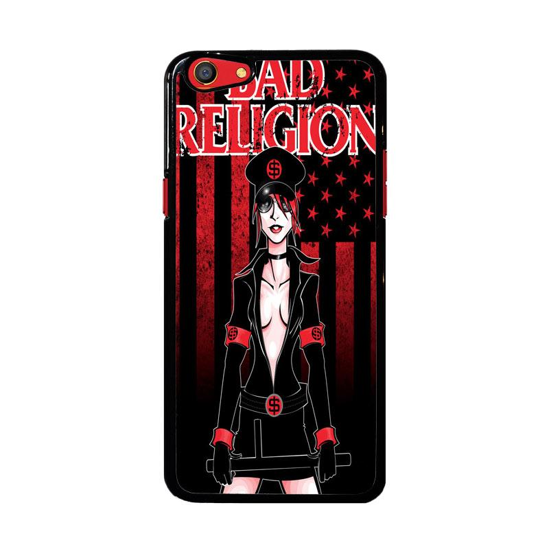 Flazzstore Bad Religion I Unused Z1007 Custom Casing for Oppo F3