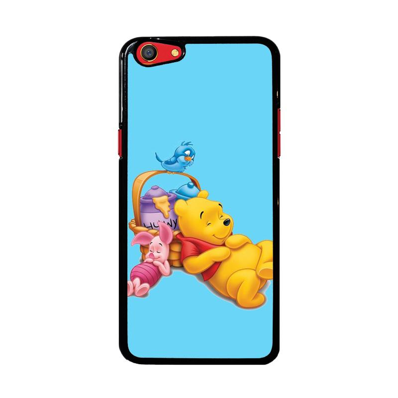 Flazzstore Funny Winnie The Pooh And Piglet Z1060 Custom Casing for Oppo F3