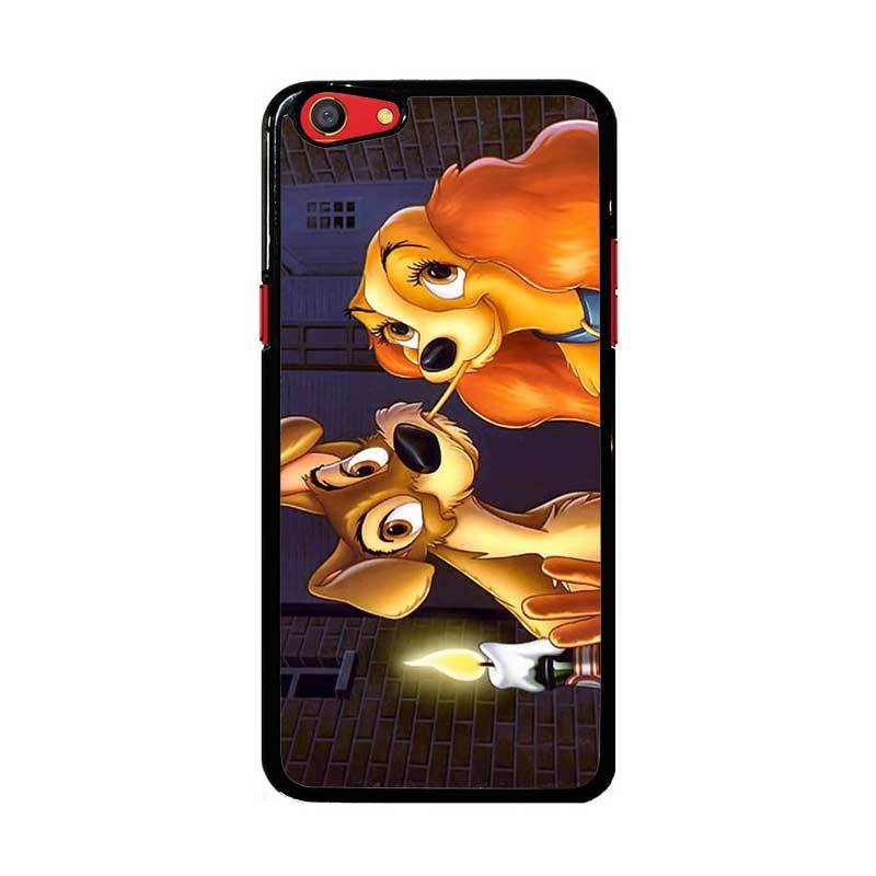 Flazzstore Lady And Tramp Disney Z1223 Custom Casing for Oppo F3