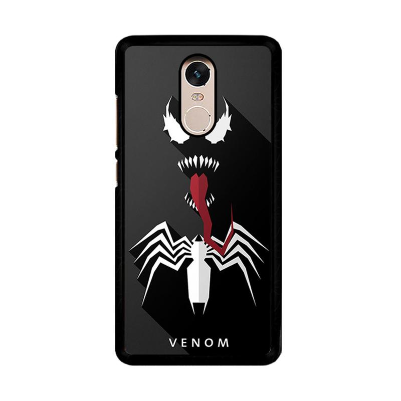 Flazzstore Venom O0368 Custom Casing for Xiaomi Redmi Note 4 or Note 4X Snapdragon Mediatek