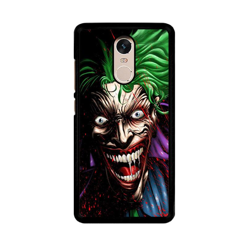 Flazzstore Joker Face Cartoon Z1273 Custom Casing for Xiaomi Redmi Note 4 or Note 4X Snapdragon Mediatek