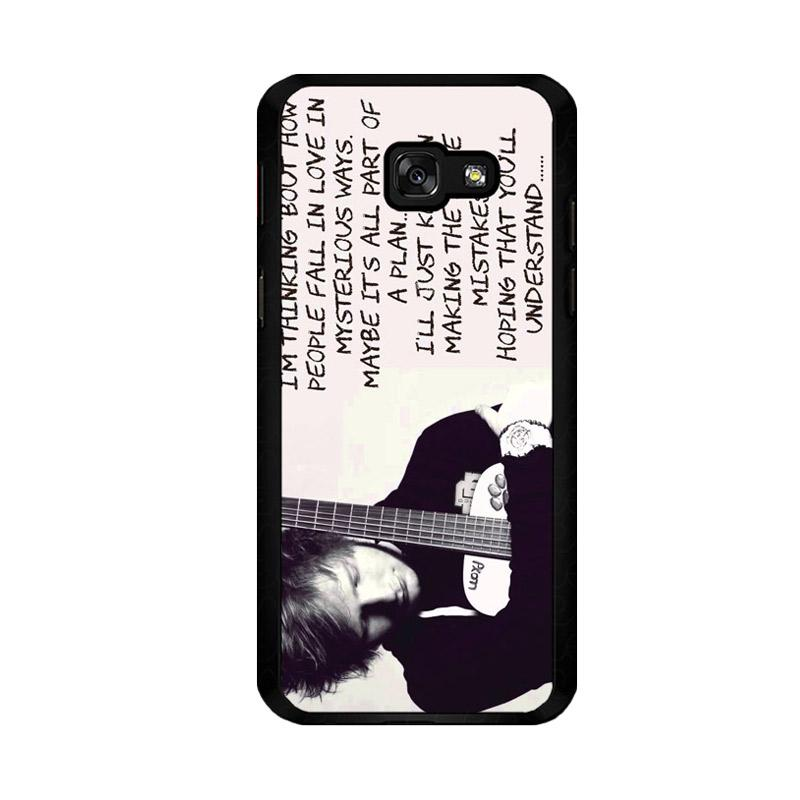 Flazzstore Thinking Out Loud-Ed Sheeran Lyric F0702 Custom Casing for Samsung Galaxy A5 2017