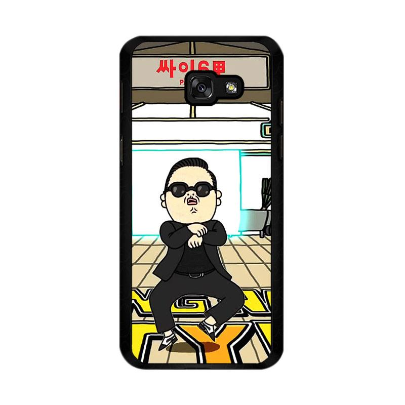 Flazzstore Gangnam Style Psy Dancing Z0185 Custom Casing for Samsung Galaxy A5 2017
