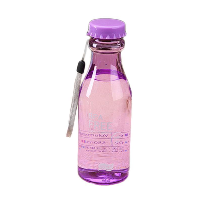 Hariku BPA Free Botol Minum - Ungu [550 mL]