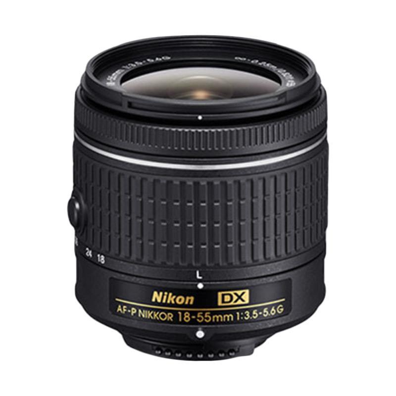 Nikon AF-P 18-55mm Non VR Lensa Kamera