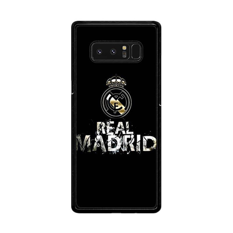Flazzstore Real Madrid Logo O1047 Custom Casing for Samsung Galaxy Note 8
