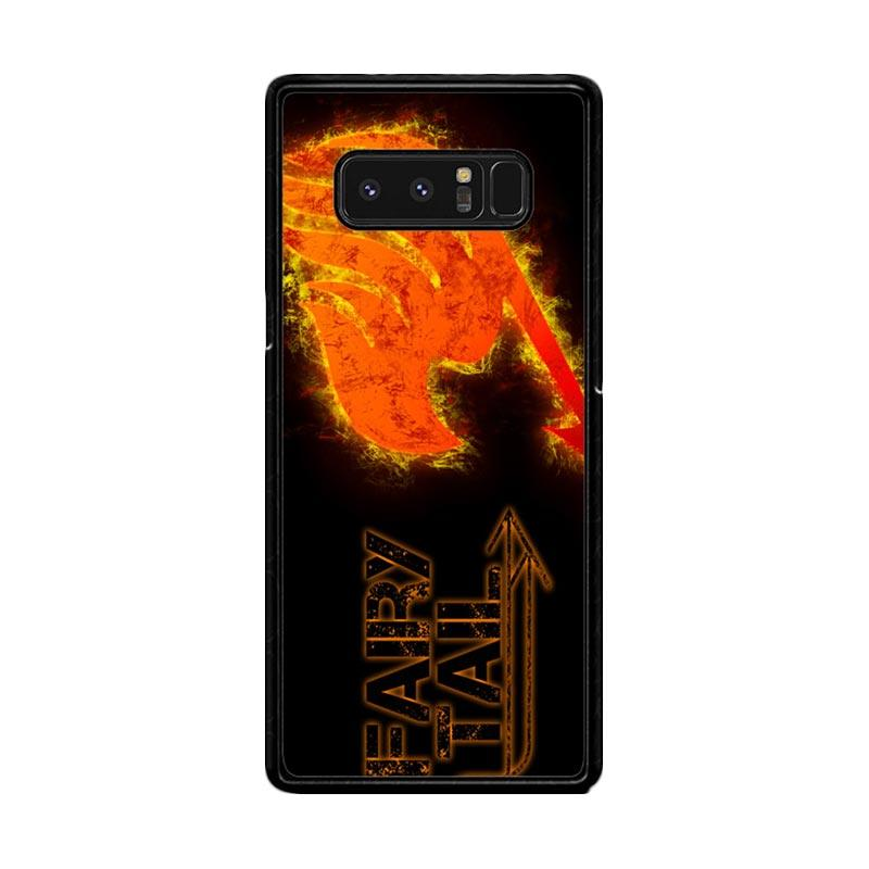 Flazzstore Fairy Tail Logo F0409 Custom Casing for Samsung Galaxy Note8