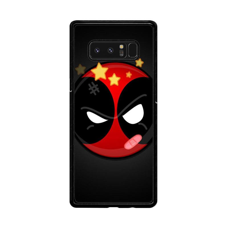 Flazzstore Deadpool Superhero Logo Z0162 Custom Casing for Samsung Galaxy Note8