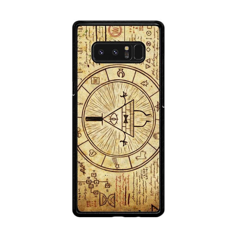 Flazzstore Gravity Falls Bill Z0187 Custom Casing for Samsung Galaxy Note8