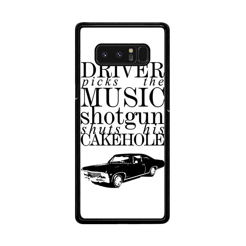 Flazzstore Supernatural Z0198 Custom Casing for Samsung Galaxy Note 8