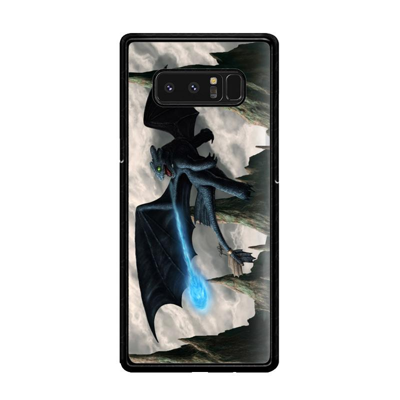 Flazzstore How To Train Your Dragon Night Fury Toothless Z0965 Custom Casing for Samsung Galaxy Note8