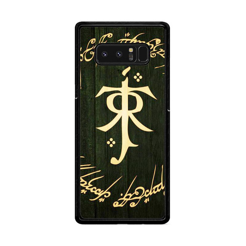 Flazzstore Lord Of The Ring Symbol Z1090 Custom Casing for Samsung Galaxy Note8