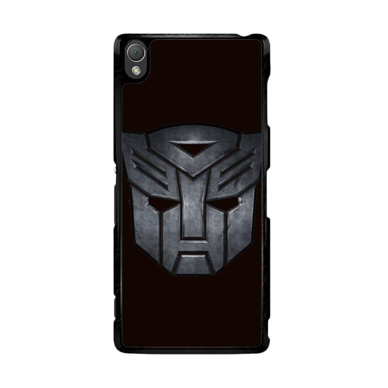 Flazzstore Transformers Autobots Icon Black F0242 Custom Casing for Sony Xperia Z3