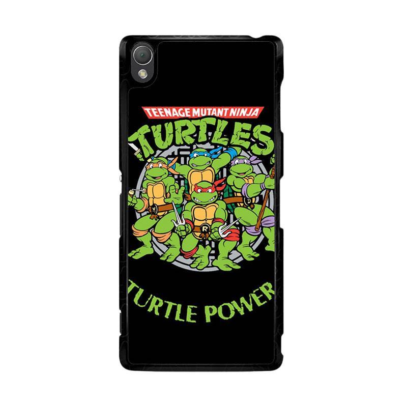 Flazzstore Teenage Mutant Ninja Turtles Tmnt Heroes Cartoon F0230 Custom Casing for Sony Xperia Z3