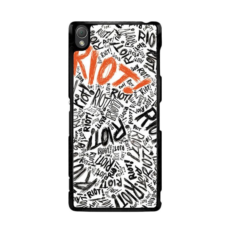 Flazzstore Paramore Riot Quote Art F0587 Custom Casing for Sony Xperia Z3