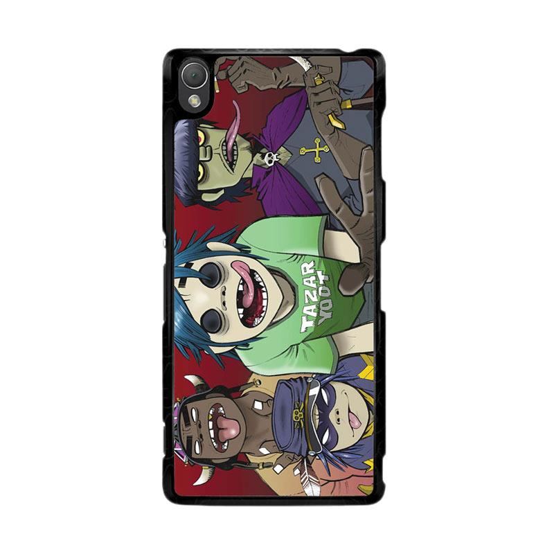 Flazzstore Gorillaz F0846 Custom Casing for Sony Xperia Z3