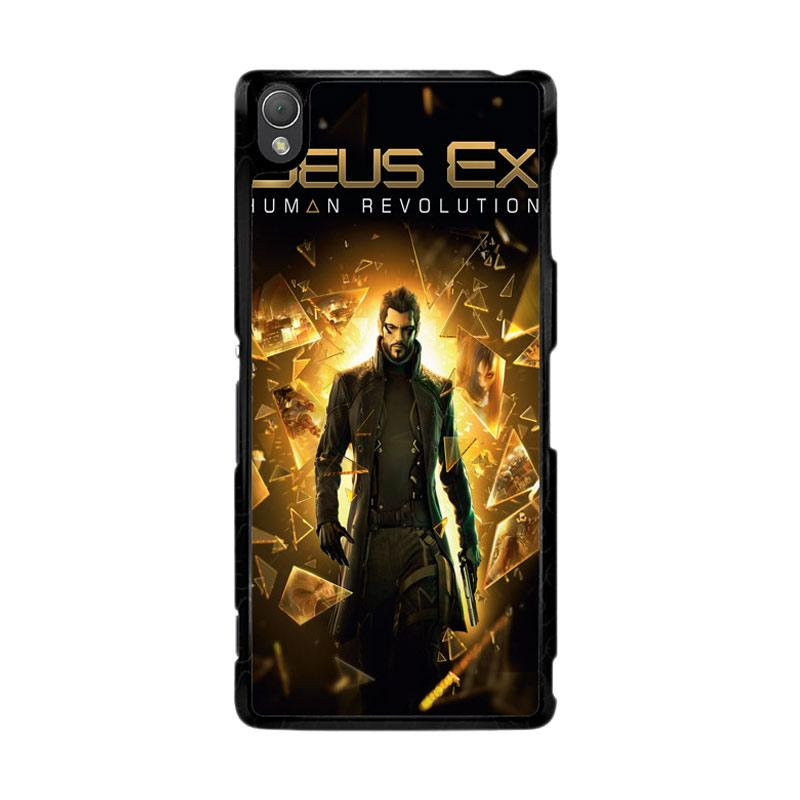 Flazzstore Deus Ex Human Revolution F0854 Custom Casing for Sony Xperia Z3