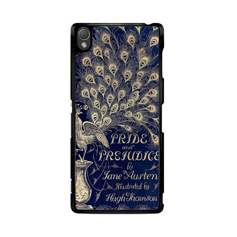 Flazzstore Cover Book Jane Austen Z0111 Custom Casing for Sony Xperia Z3