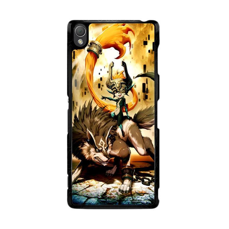 Flazzstore Zelda And Wolf Twilight Princess Z0255 Custom Casing for Sony Xperia Z3