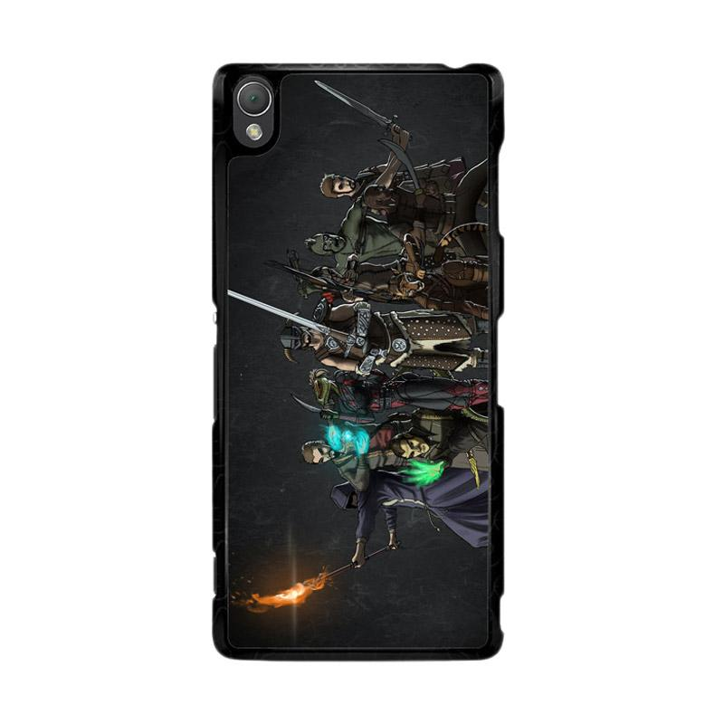 Flazzstore Skyrim Z0279 Custom Casing for Sony Xperia Z3