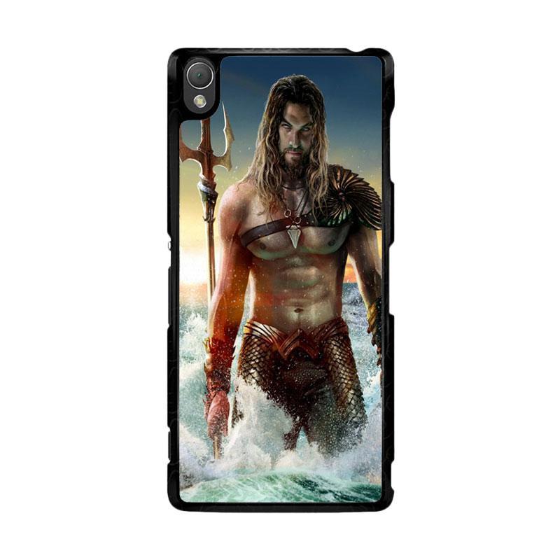 Flazzstore Jason Momoa As Aquaman  Z0582 Custom Casing for Sony Xperia Z3