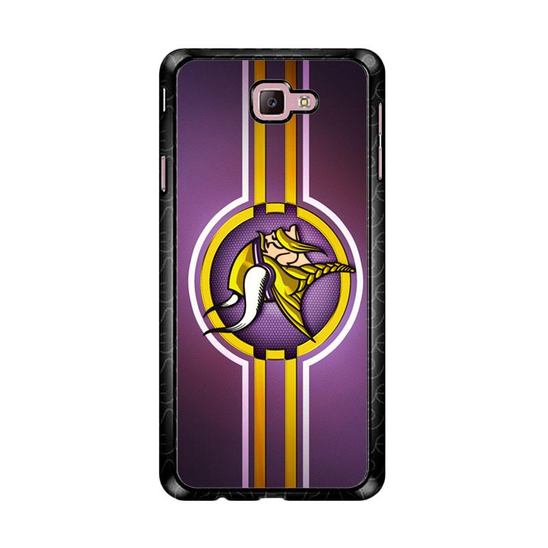 Flazzstore Minnesota Vikings Logo Z5026 Custom Casing for Samsung Galaxy J7 Prime