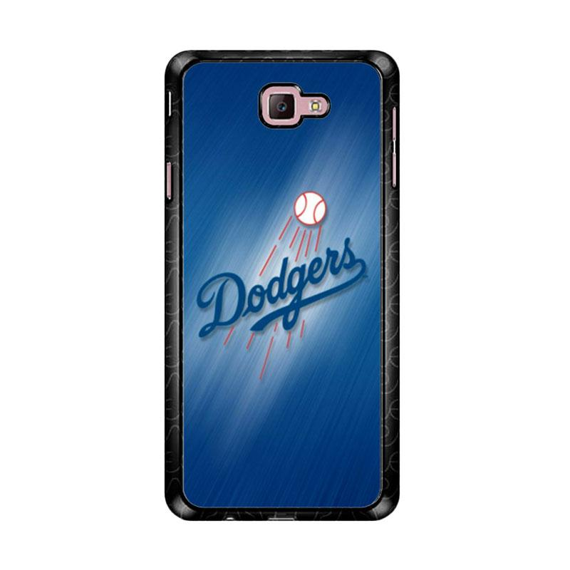 Flazzstore Los Angeles Dodgers Z5178 Custom Casing for Samsung Galaxy J7 Prime