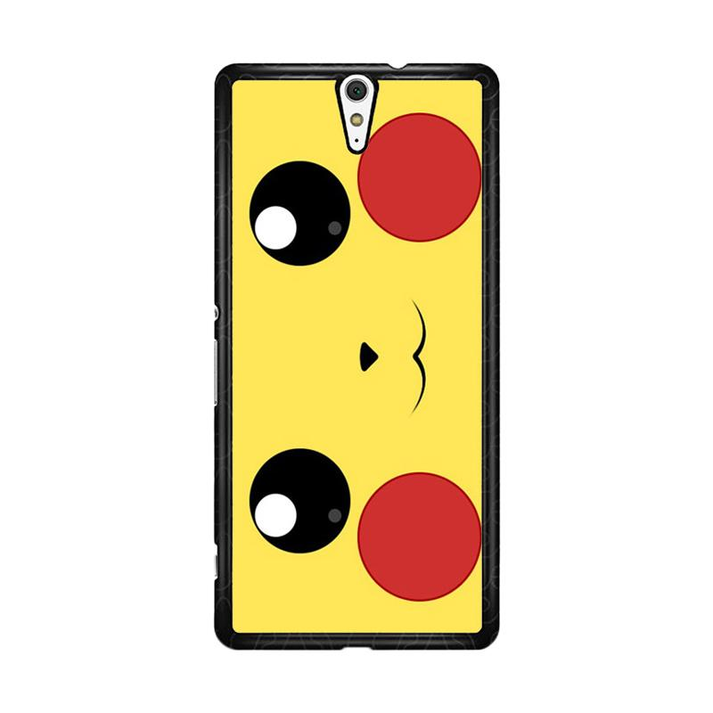 Flazzstore Pokemon Pikachu Poket Monster Case F0580 Custom Casing for Sony Xperia C5 Ultra