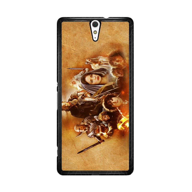 Flazzstore Hobbit Lord Of The Ring Lotr Art Z0105 Custom Casing for Sony Xperia C5 Ultra