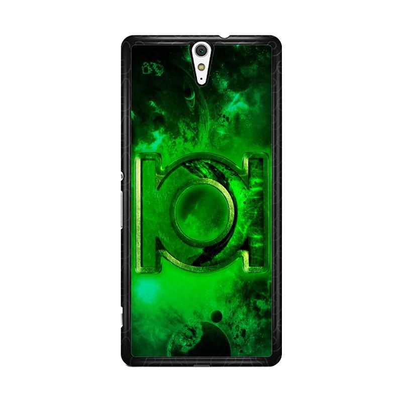 Flazzstore Green Lantern Symbol Z0137 Custom Casing for Sony Xperia C5 Ultra