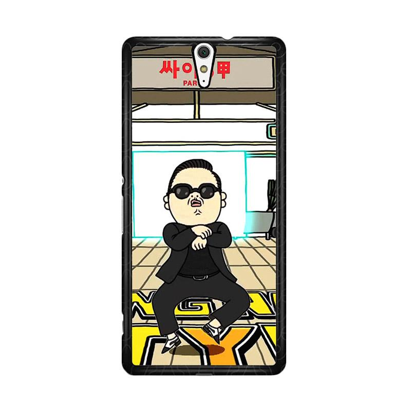 Flazzstore Gangnam Style Psy Dancing Z0185 Custom Casing for Sony Xperia C5 Ultra