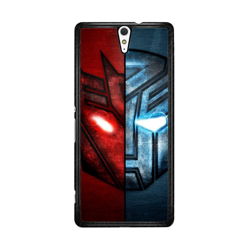 Flazzstore Transformer 2 Face Of Autobots Decepticons Z0298 Custom Casing for Sony Xperia C5 Ultra