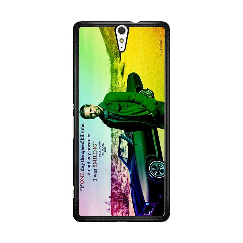 Flazzstore Paul Walker Quote Z0366 Custom Casing for Sony Xperia C5 Ultra