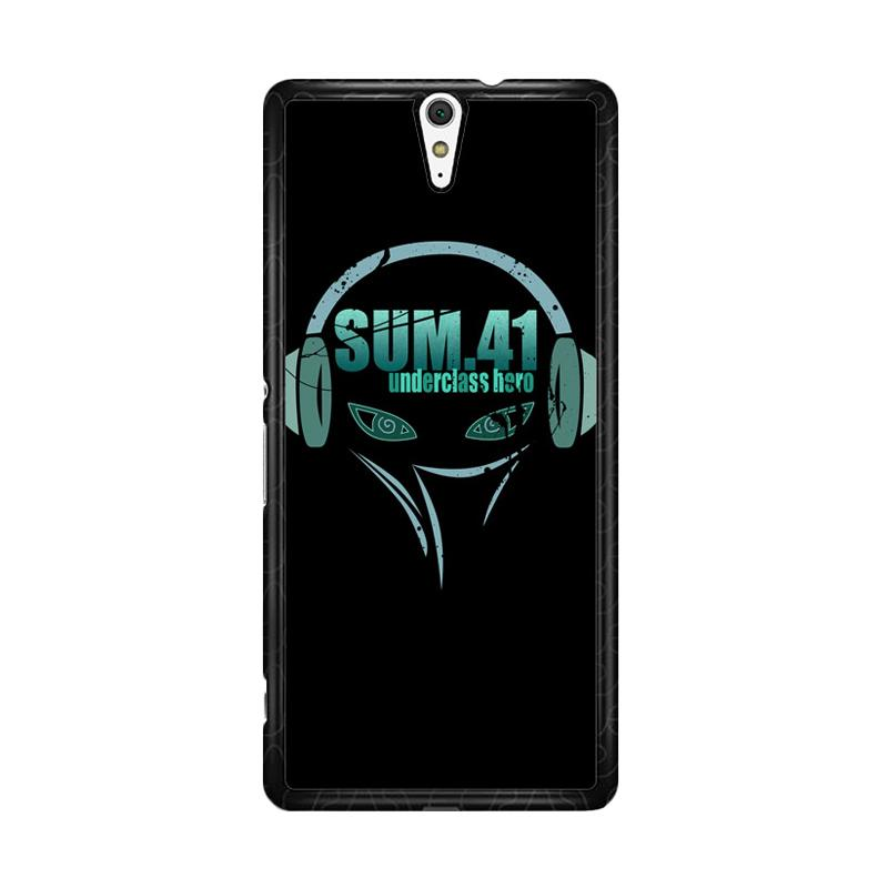 Flazzstore Sum 41 R1 Z0819 Custom Casing for Sony Xperia C5 Ultra