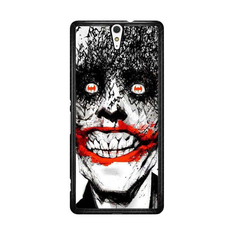 Flazzstore Creepy Smile Face Joker Z0981 Custom Casing for Sony Xperia C5 Ultra