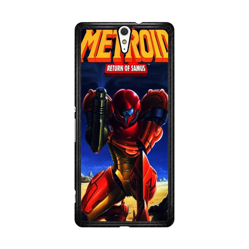 Flazzstore Metroid Video Games Z1109 Custom Casing for Sony Xperia C5 Ultra