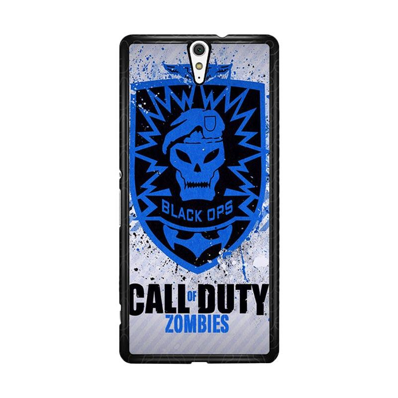 Flazzstore Call Of Duty Black Ops Zombie Logo Z1194 Custom Casing for Sony Xperia C5 Ultra