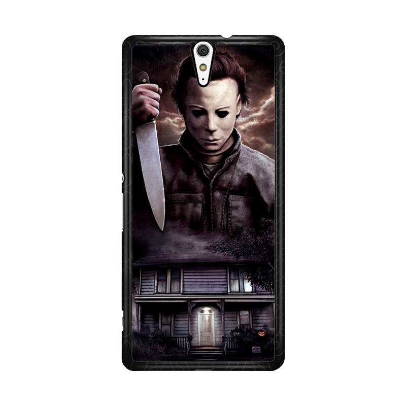Flazzstore Michael Myers Halloween Z1319 Custom Casing for Sony Xperia C5 Ultra