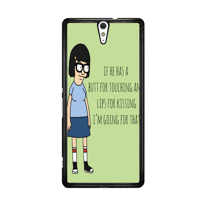 Flazzstore Tina Bob'S Burgers Quotes Z1391 Custom Casing for Sony Xperia C5 Ultra